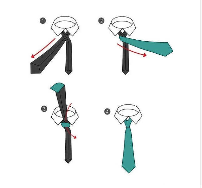 10 Simple Ways On How To Knot A Tie Step By Step