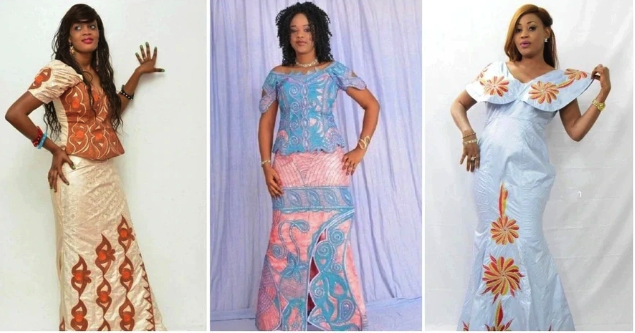 Beautiful Guinea Styles For Nigerian Ladies
