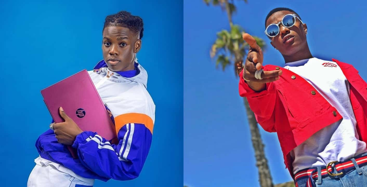 Rema Says Wizkid Is A Legend, Opens Up On His Love Life
